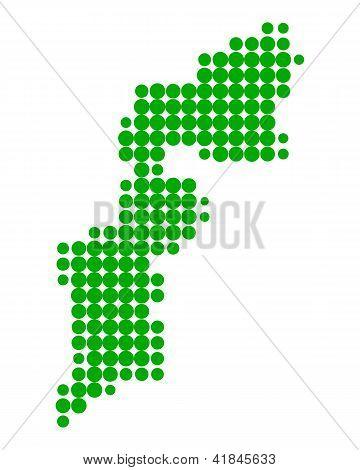 Map Of Burgenland