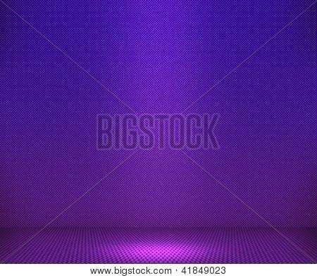 Violet Simple Spotlight Background