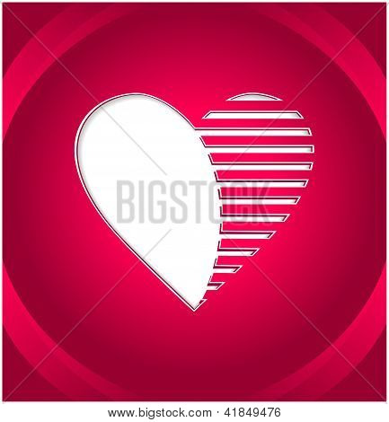 Creative Heart button
