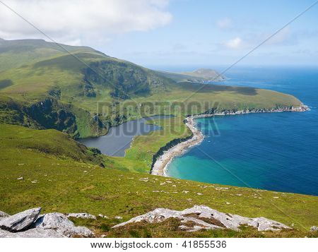 Northern coastline on Achill Island, Ireland