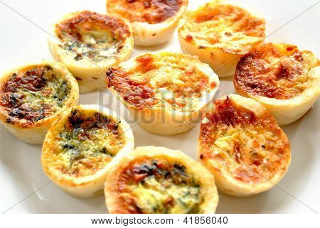 Fresh Baked Mini Quiche