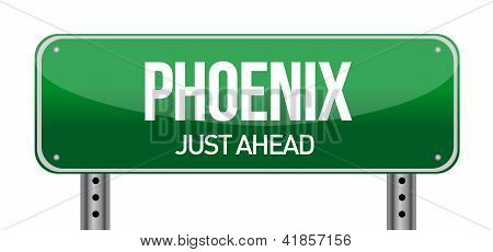 Phoenix Road Sign
