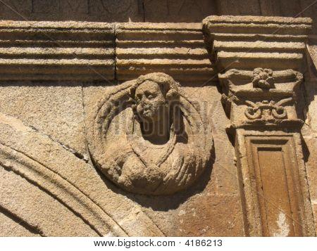 Cáceres, Sculptured Head