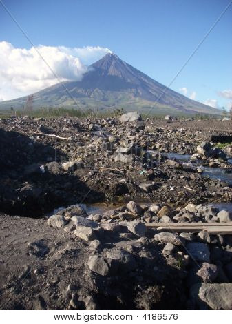 Pebbles and Rocks at Mayon (Bicol)