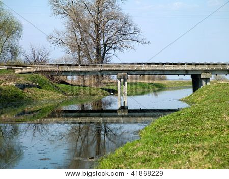 Old Bridge And River