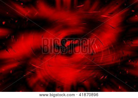 Abstract Background With Magic Nebula Storm
