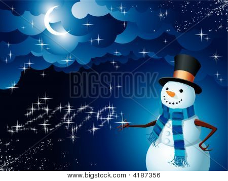 Snowman Magicd