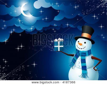 Snowman Magic Gift