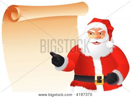 Santa Claus With List