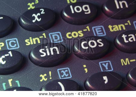 Trigonometry Buttons