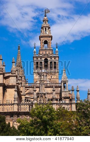 La Catedral Giralda en Sevilla España