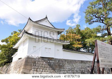 Kyoto, Japão - 27 de outubro: Castelo de Nijo