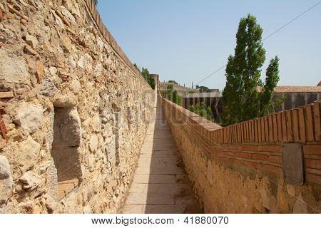 Girona Old City Wall