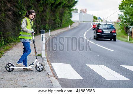 Girl Will Cross The Street