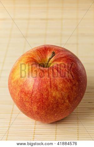 Apple On Mat