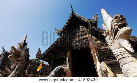 Old Buddhist Sanctuary