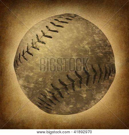 Old Grunge Baseball