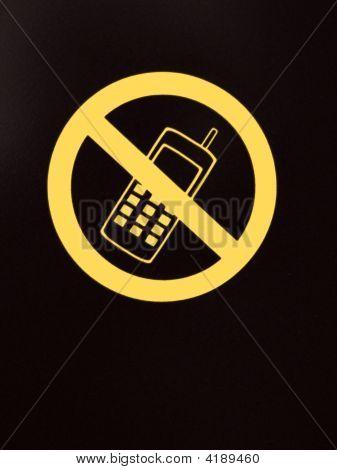 No Calling Sign