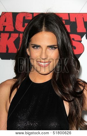 LOS ANGELES - OCT 2:  Karla Souza at the