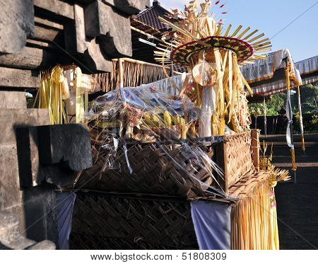 Fruit Offering at The Temple