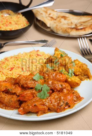 Indian Curry Meal