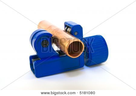 Pipe Cutter With Pipe