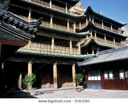 Temple,china