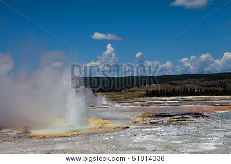 Yellowstone Thermal Hot Springs