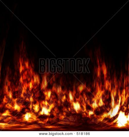 Abstract Fire In The Furnace