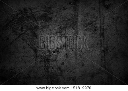 Dark grunge textured wall background