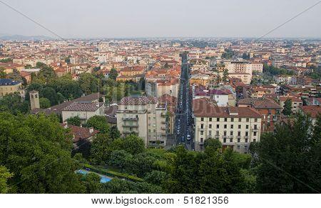 Bergamo city