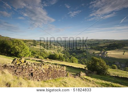 springtime yorkshire valley