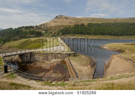 reservoir in the peak district