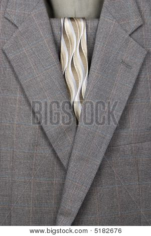 Business Suit And Necktie