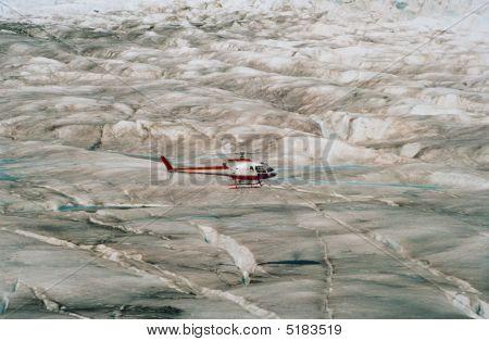 Helicopter Mendenhall Glacier Alaska
