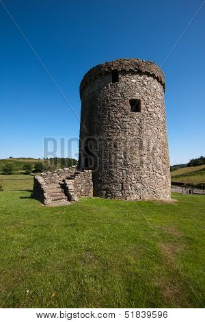 Orchardton Castle, Dumfries and Galloway, Scotland