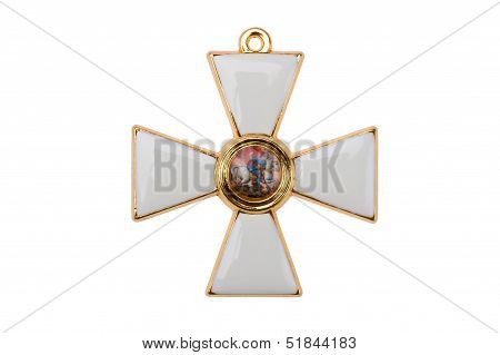 Badge Of The Order St George The Great Martyr And Conqueror