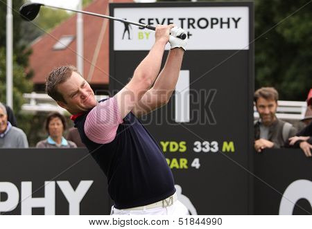 Scott Jamieson at the Seve Trophy 2013