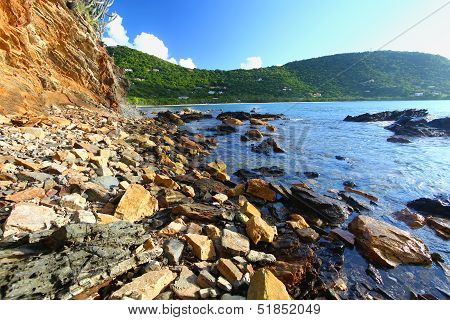 Rugged Tortola Coastline