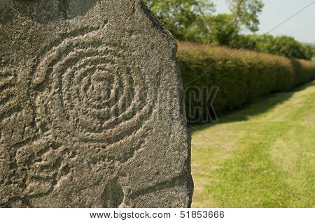Symbol At Newgrange, Ireland