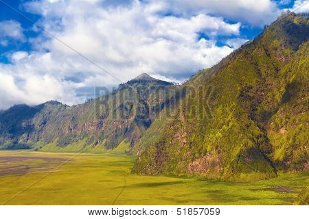 Beautiful Mountains Against Blue Sky