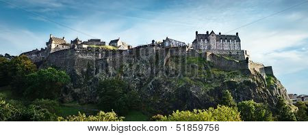 Edinburgh Castle Panorama