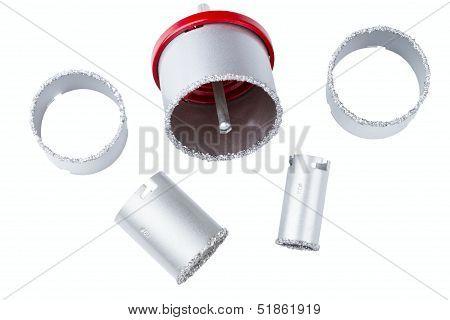 set of abrasive rings