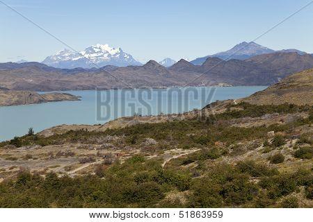 Beautiful Landscape At Torres Del Paine