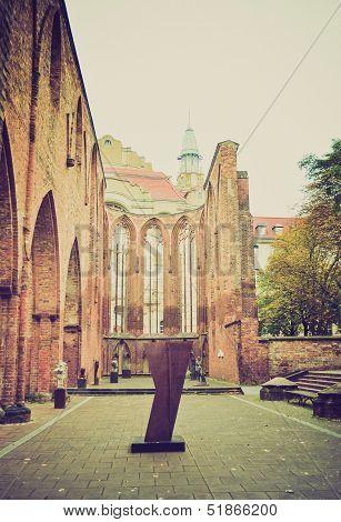 Klosterkirche, Berlin Retro Look