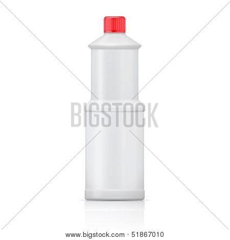 White bleach bottle.