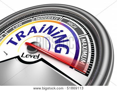 Training Level Conceptual Meter