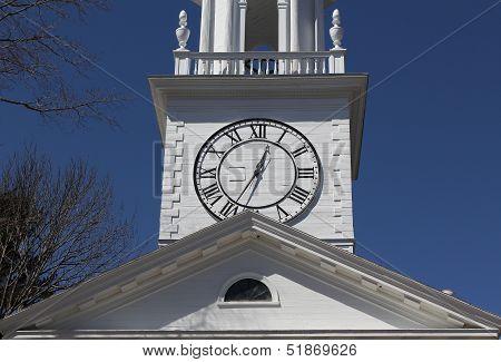 Kennebunk Church Clock