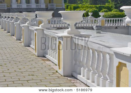 Protection With Vases And Columns.