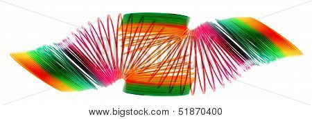 Rainbow Coil Spring Toy